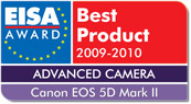 canon eos 5d mark 2 eisa best product 2009-2010