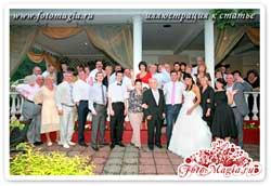 Печать фотографий на свадьбе